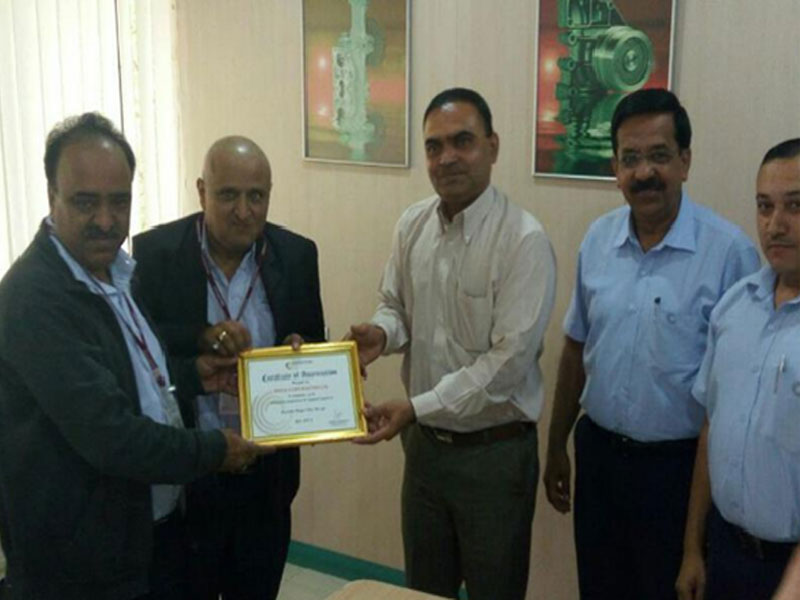 Best performance award from Concentric Pumps