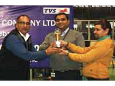 Supplier Quality Circle Award by TVS