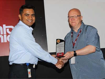 Recognition by Mentor Graphics for Best Presentation On Capital Tools