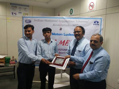 MSL-GN won runner up Trophy in TML Lucknow Quality Circle convention