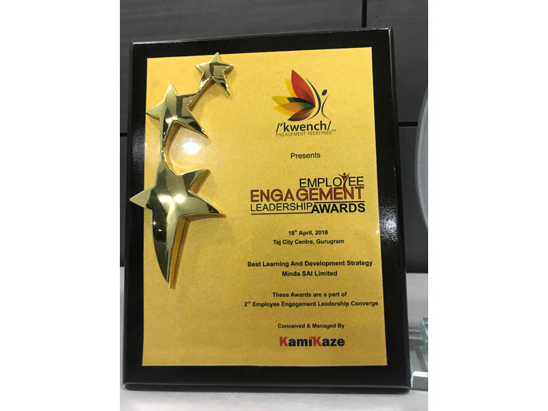 Best Learning & development Strategy Award - Kamikaze