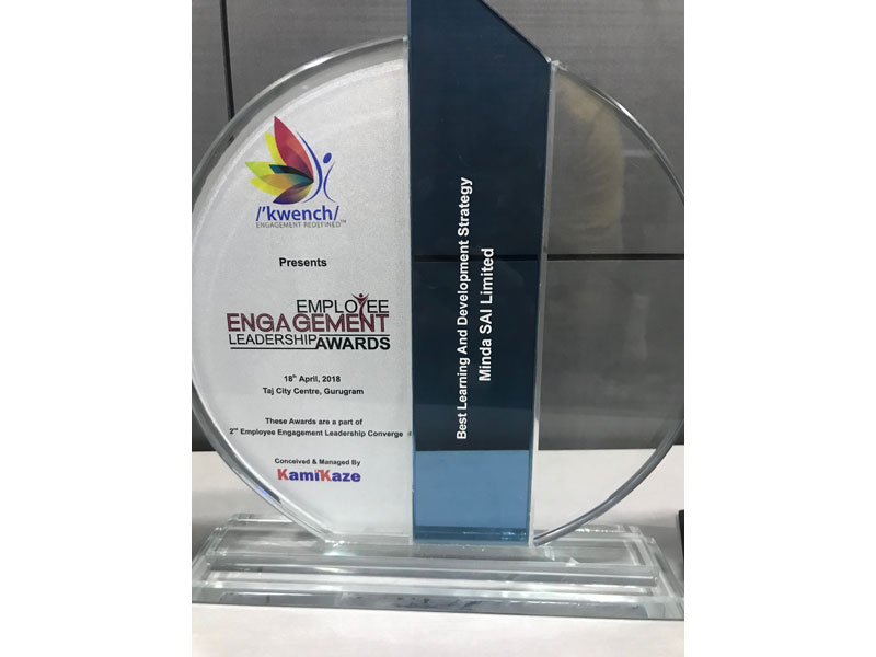 Best Employee Engagement Leadership Award - Kamikaze