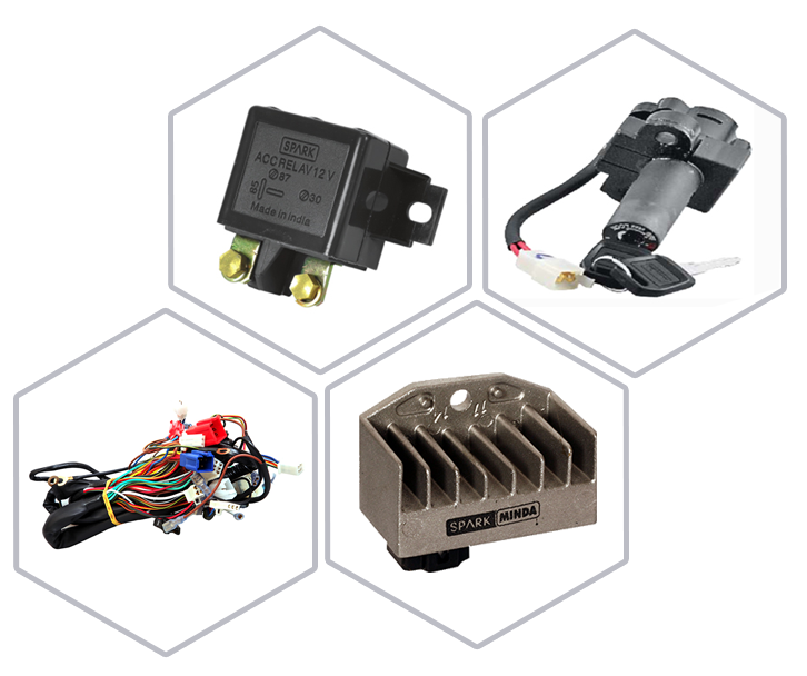 Leading Auto Component Manufacturer In India | Spark Minda